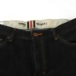 mens dark denim jeans